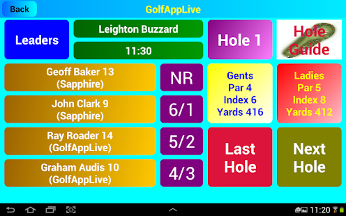GolfAppLive- screenshot thumbnail