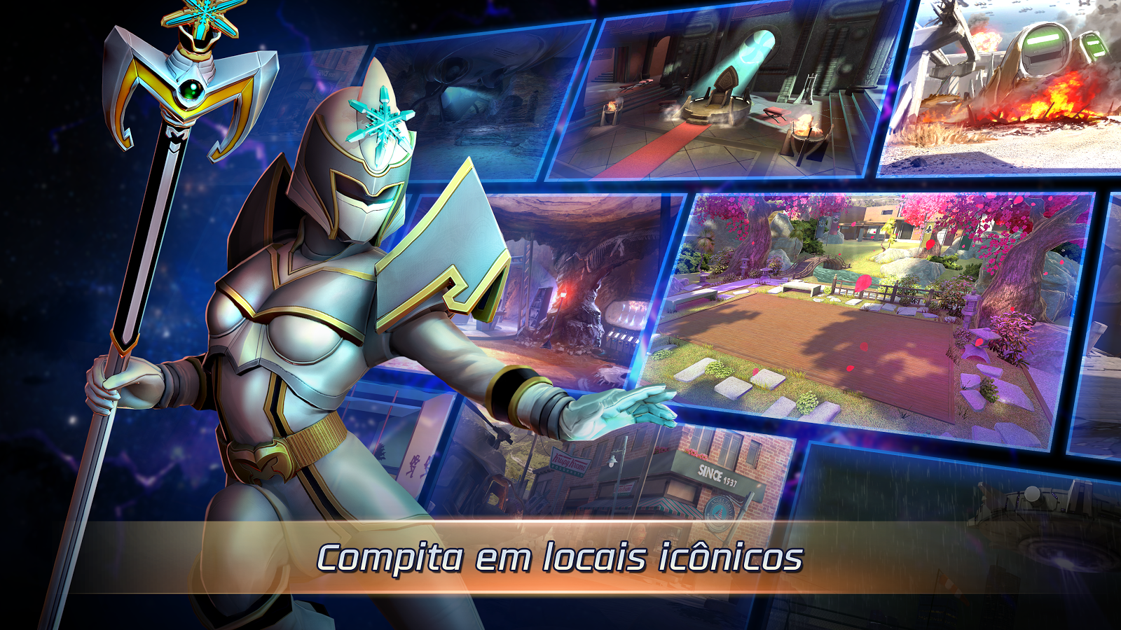 Power Rangers: Guerras Legacy: captura de tela