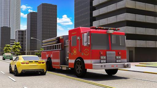Robot Fire Fighter Rescue Truck 1.1.4 screenshots 2