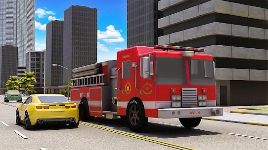 Robot Fire Fighter Rescue Truck 2