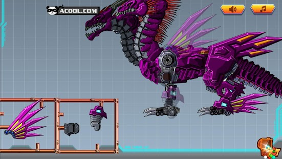 Toy Robot:Twin-Headed Dragon for PC and MAC