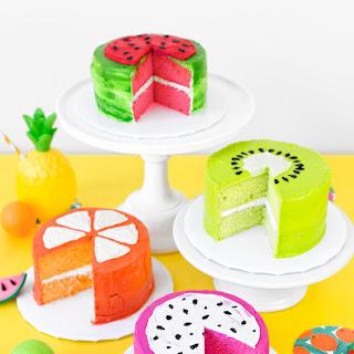 Fruit Slice Cakes Recipe