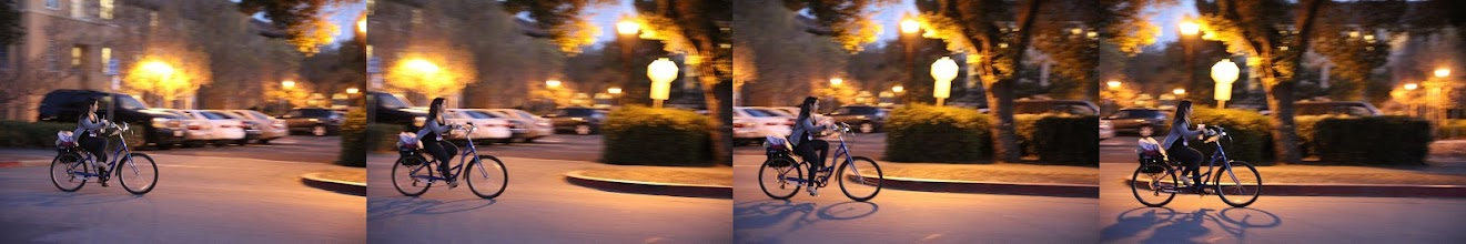 Photo: Requirement 4:   Shot a burst of a biker at night. Had to horizontally reverse the image in photoshop to give a L-R direction.  As it was night, a high iso (i think 3200) was used with a wide aperture.