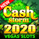 Cash Storm Casino-キャッシュストーム-ベガススロットマシンとカジノゲーム