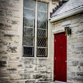 Little Red Door by Portraits Rhonda - Buildings & Architecture Places of Worship ( indiana, rhonda clark, church, pbr photography, door, portraits-by-rhonda.com, photography, red, www.facebook.com/portraitsrhonda indianapolis, ellenberger, pbr, portraits by rhonda, portraitsbyrhonda.blogspot.com )