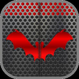 Metal Bat Zip Screen Lock