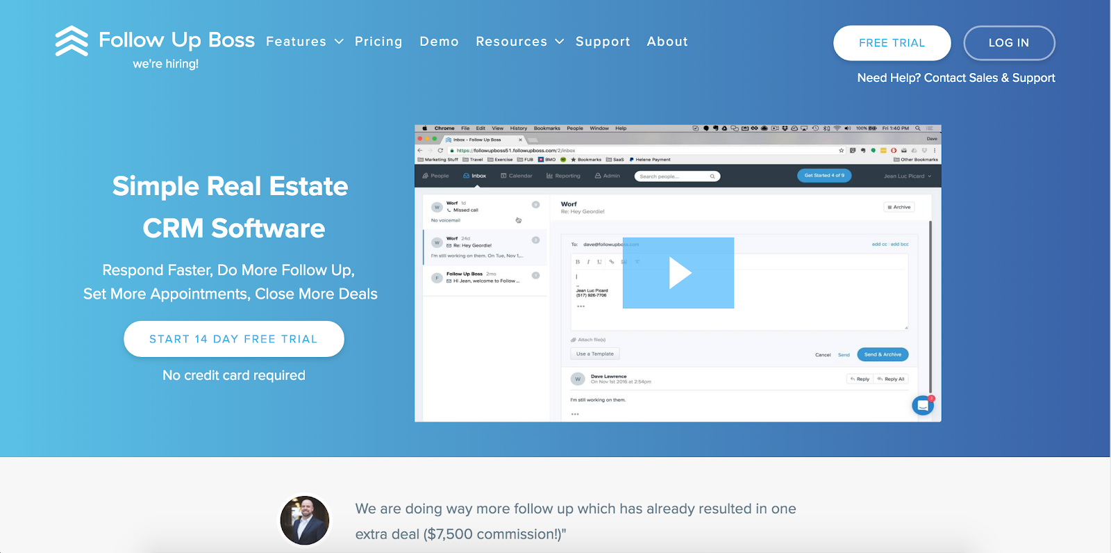 Follow Up Boss CRM | Real Estate Marketing Tools