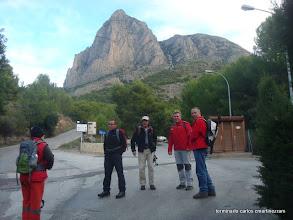 Photo: CR  al pie del PUIG Campana