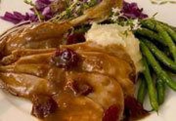 Breast Of Duck With Dried Cherry Sauce Recipe