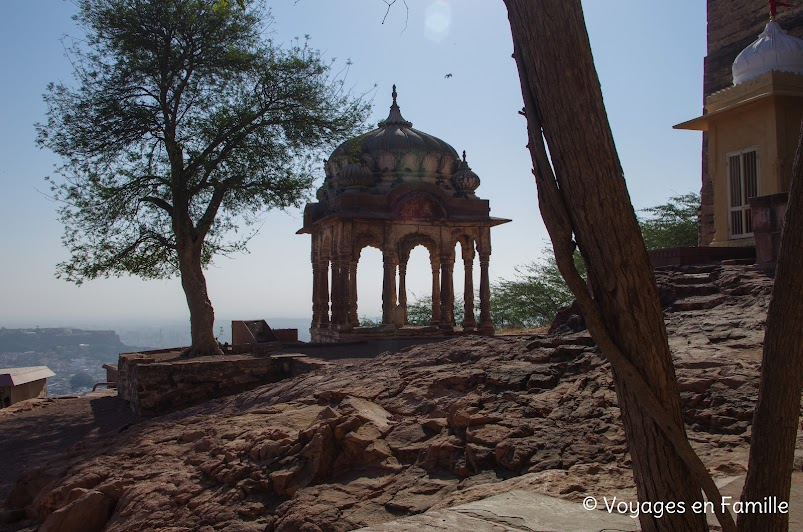 Vue depuis le fort de Mehrangarh
