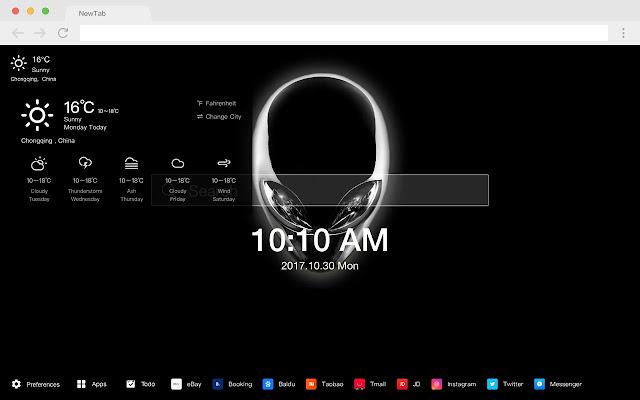 Alienware 新标签页 高清壁纸 火爆品牌 主题