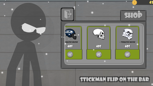 Stickman flip on the bar for PC