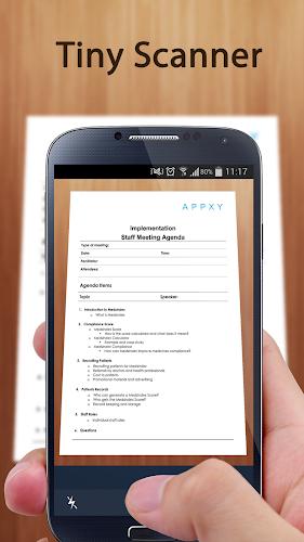 Tiny Scanner - PDF Scanner App Android App Screenshot