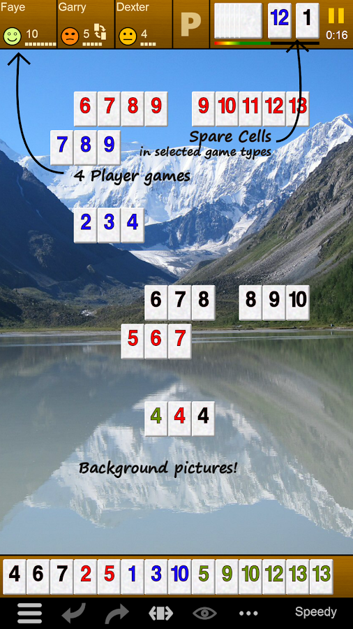 Pup Rummy PLUS- screenshot