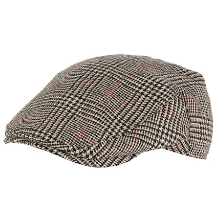 Norwich cap, grå/röd