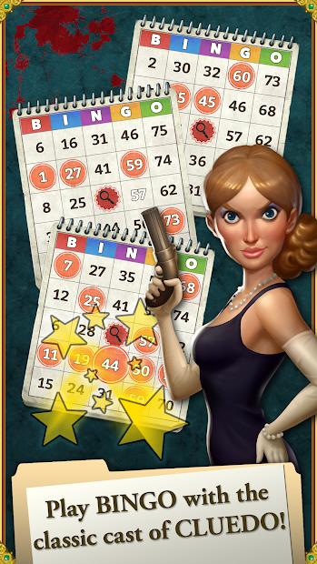 CLUEDO Bingo! Android App Screenshot