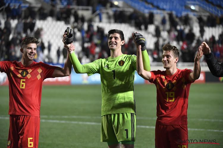 """Courtois gelooft volop in Belgische EK-kansen, maar tempert tegelijkertijd: """"Voor hetzelfde geld botsen we in de kwartfinale op Duitsland, Frankrijk of Engeland"""""""