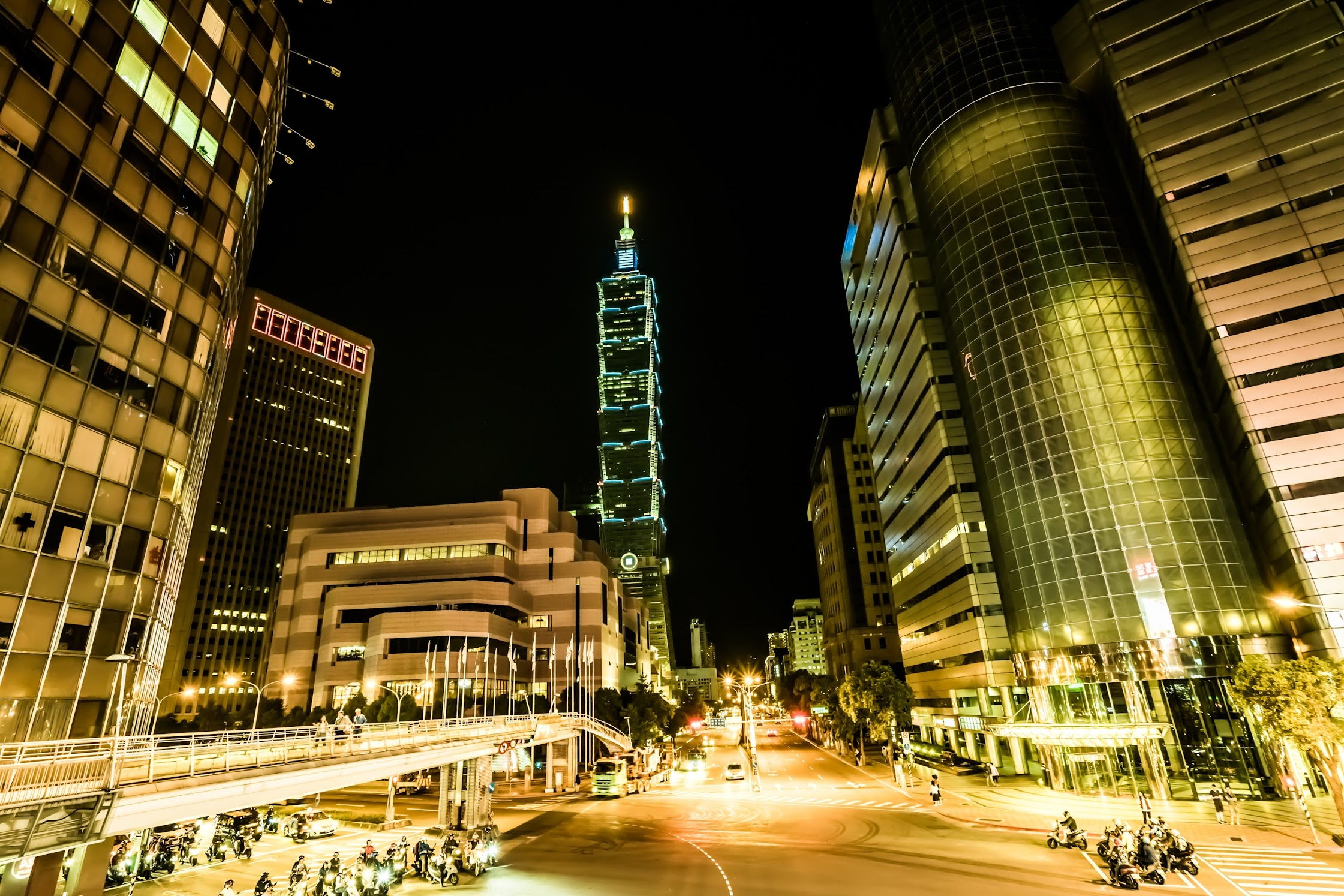 Taipei 101 night view1