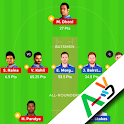 D11 Fantasy Teams with Video - Guide for Dream11 icon