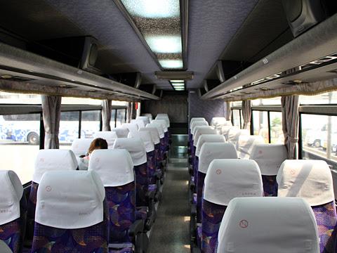 とさでん交通「高知徳島エクスプレス」 ・・61 車内