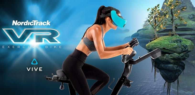 The NordicTrack VR Bike.