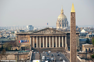 Photo: Concorde - Colonnade (Assemblée Nationale) - Invalides