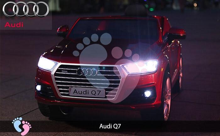 Oto điện Audi Q7 dành cho bé yêu 10