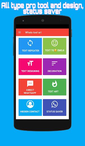 Whats Tool Art Fancy Text Emoji Status Saver Mod 21