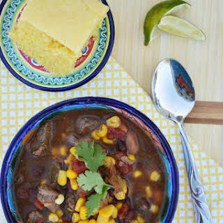 Southwest Cilantro and Jalapeno Stew.