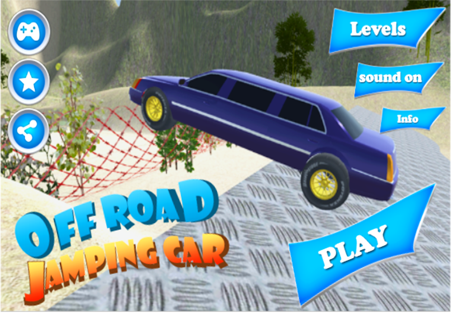 off road jumping car android apps on google play. Black Bedroom Furniture Sets. Home Design Ideas