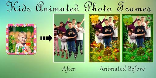 Animated Kids Frames - GIF