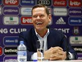 Le directeur technique d'Anderlecht Frank Arnesen compare Peter Zulj avec un Soulier d'Or