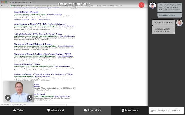 Flexperto Screen Sharing
