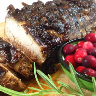 Slow Cooker Cranberry Dijon Pork Roast