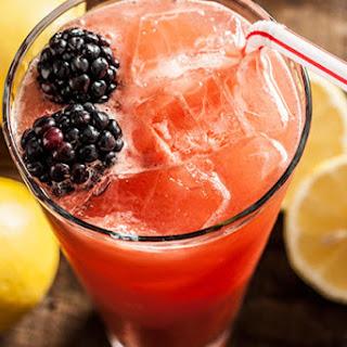 Watermelon Lemonade Cocktail.