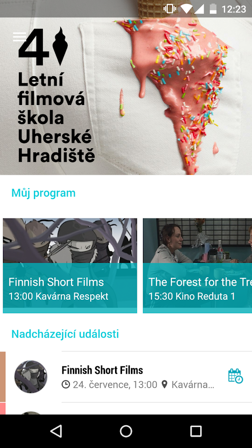 LFŠ - Letní filmová škola- screenshot