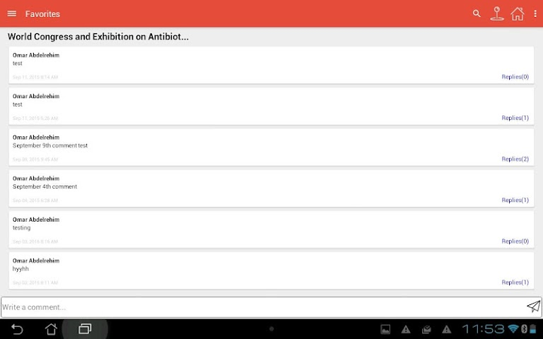 android Community Triangle Screenshot 7
