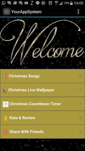 Christmas Song Live Wallpaper
