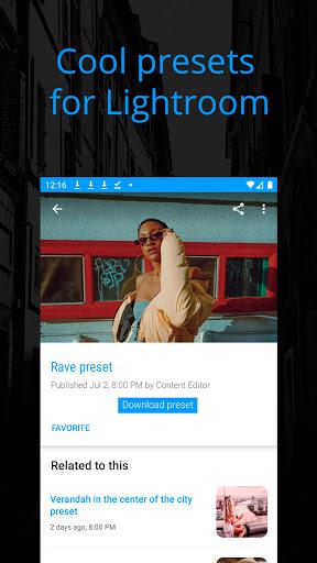 Preseters - Free Presets for Lightroom 2.7 screenshots 2