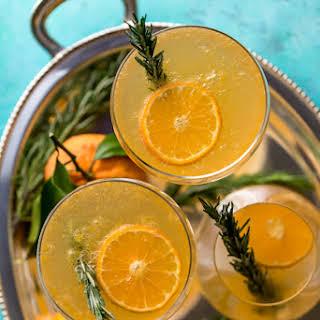 Rosemary Clementine Sparkler (Mocktail).