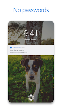 Microsoft Authenticator APK screenshot thumbnail 2