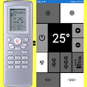 TADIRAN AC Remote, as seen in picture! NO settings icon
