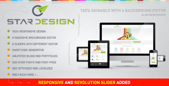 Tema WordPress Seo Friendly Responsive – Cstar design