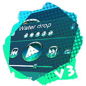 Water drop PlayerPro Skin