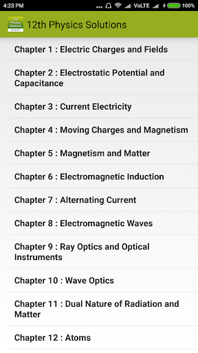 Download Class 12 Physics NCERT Solutions Google Play