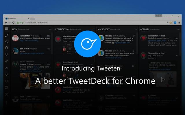 Tweeten Screenshot