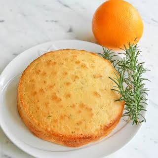 Orange & Rosemary Butter Cake.