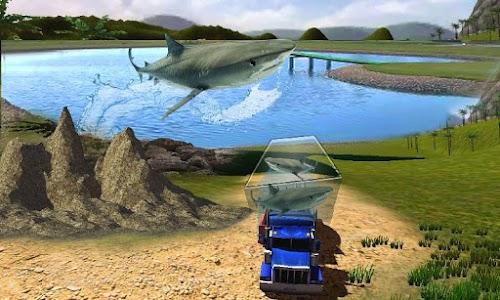 Transport Truck Shark Aquarium screenshot 1