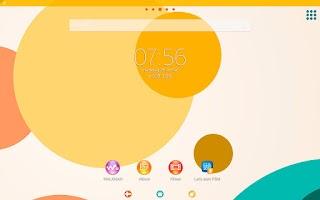 Screenshot of Xperia™ CircleVaganza Theme