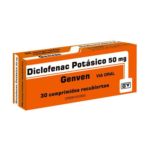 Diclofenac Potasico 50Mg 30 Comprimido Genven